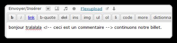 HTMLComment
