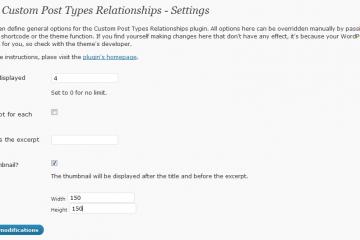 Custom Post Types Relationships