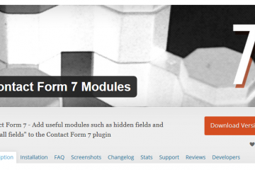 Contact Form 7Modules