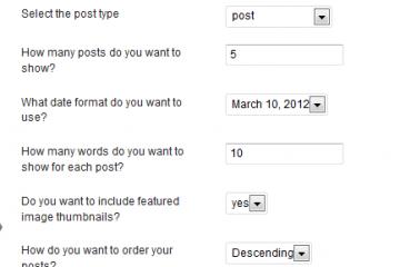 WordPress Posts Timeline