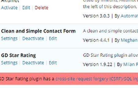 plugins-vulnerabilities
