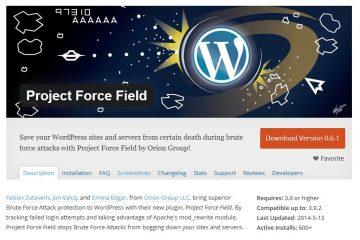 Project Force Field