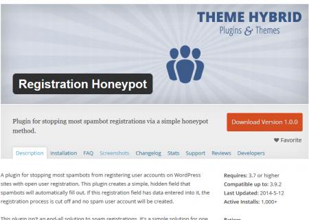registration-honeypot