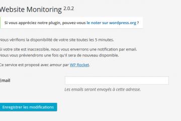 WP Website Monitoring