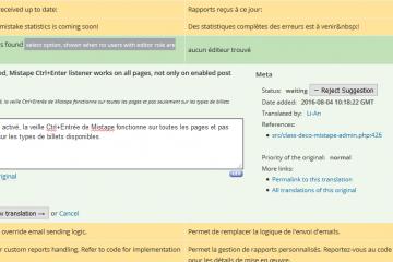 Traduire les outils WordPress, ça ne se fait pas n'importe comment