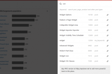 WP Admin Smart Search