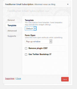 feedburner-widget-template