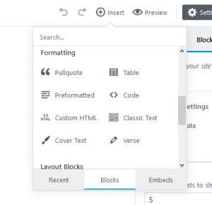 gutenberg-block-format