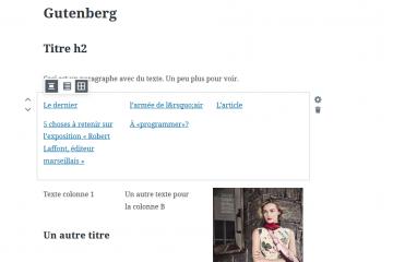 Gutenberg, le futur mode d'édition d'article de WordPress