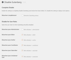 disable-gutenberg+1
