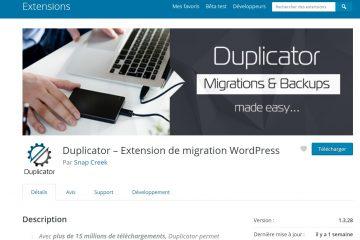 Faille sécurité dans Duplicator «1.3.26
