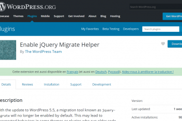 Enable jQuery Migrate Helper